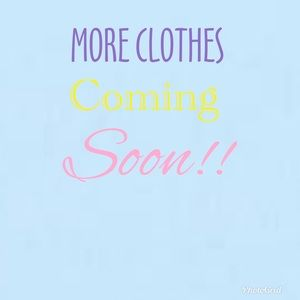 Other - More clothes coming soon